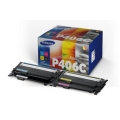 HP Toner Value-Kit (Bk,C,M,Y) SU375A (CLTP406C)